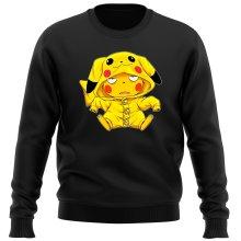 Pull  parodique Pikachu : Une drôle de tronche :) (Parodie )