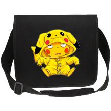 Sac bandoulière Canvas  parodique Pikachu : Une drôle de tronche :) (Parodie )
