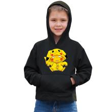 Sweat à capuche Enfant  parodique Pikachu : Une drôle de tronche :) (Parodie )