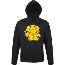 Sweat à capuche  parodique Pikachu : Une drôle de tronche :) (Parodie )