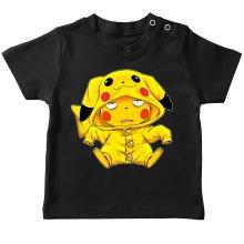 T-shirt bébé  parodique Pikachu : Une drôle de tronche :) (Parodie )