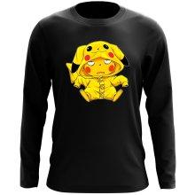 T-Shirt à manches longues  parodique Pikachu : Une drôle de tronche :) (Parodie )