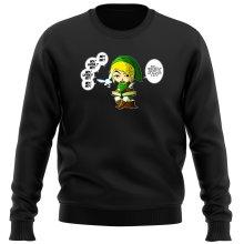Pull  parodique Link et la Fée Navi : Une fée pratique mais agaçante... (Parodie )