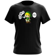 T-shirt  parodique Link et la Fée Navi : Une fée pratique mais agaçante... (Parodie )