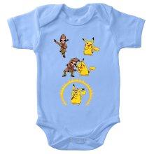 Body bébé  parodique Pikachu et Sherlock Holmes aka Détective Pikachu : Une Fusion élémentaire... :) (Parodie )