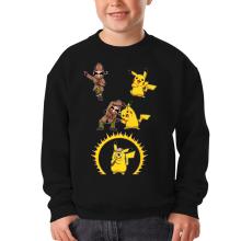 Pull Enfant  parodique Pikachu et Sherlock Holmes aka Détective Pikachu : Une Fusion élémentaire... :) (Parodie )
