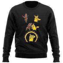 Pull  parodique Pikachu et Sherlock Holmes aka Détective Pikachu : Une Fusion élémentaire... :) (Parodie )