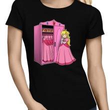 T-shirts Femmes  parodique Princesse Peach : Une garde-robe de princesse...!? (Parodie )
