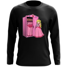 T-Shirt à manches longues  parodique Princesse Peach : Une garde-robe de princesse...!? (Parodie )