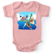 Body bébé (Filles)  parodique La Kame House et Link : Une île perdue... (Parodie )