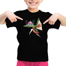 T-shirts  parodique Link et la Kame House de Tortue Géniale : Une île perdue dans l