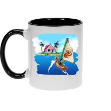 Mug  parodique La Kame House et Link : Une île perdue... (Parodie )