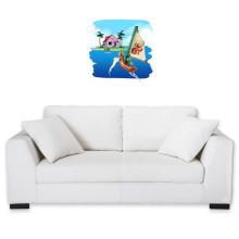 Sticker Mural  parodique La Kame House et Link : Une île perdue... (Parodie )