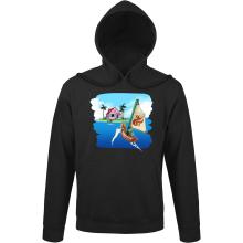 Sweats à capuche  parodique La Kame House et Link : Une île perdue... (Parodie )