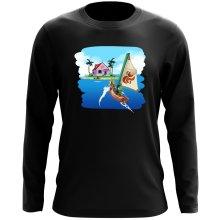 T-Shirt à manches longues  parodique La Kame House et Link : Une île perdue... (Parodie )