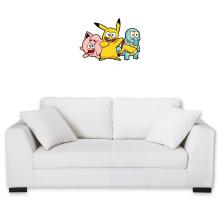 Décorations murales  parodique Bob, Carlo et Patrick cosplayés en Pikachu, Carapuce et Rondoudou : Une troupe de joyeux Cosplayers :) (Parodie )