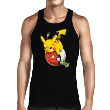 Funny Tank Tops - Pikachu and Ash ( Parody)