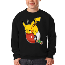 Funny Kids Sweater - Pikachu and Ash ( Parody)