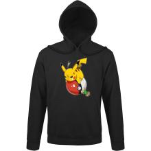 Sweats à capuche  parodique Pikachu et Sasha : VENGEANCE !!! :) (Parodie )