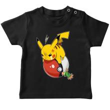 T-shirts  parodique Pikachu et Sasha : VENGEANCE !!! :) (Parodie )