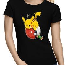 T-shirts Femmes  parodique Pikachu et Sasha : VENGEANCE !!! :) (Parodie )