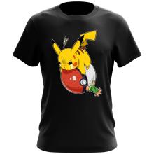 Funny T-Shirt - Pikachu and Ash ( Parody)