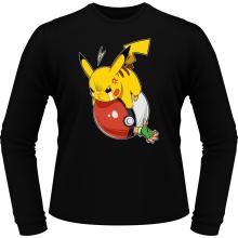T-Shirts à manches longues  parodique Pikachu et Sasha : VENGEANCE !!! :) (Parodie )