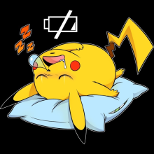 t shirt b b jeux vid o parodie pikachu de pok mon plus de probl me de batterie. Black Bedroom Furniture Sets. Home Design Ideas