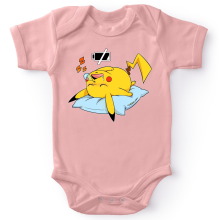 Body bébé (Filles)  parodique Pikachu : Batterie déchargée :) (Parodie )