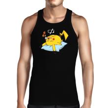 Débardeur  parodique Pikachu : Batterie déchargée :) (Parodie )