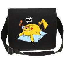 Sac bandoulière Canvas  parodique Pikachu : Batterie déchargée :) (Parodie )