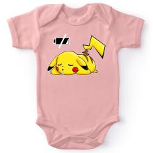 Body bébé (Filles)  parodique Pikachu : Batterie à plat ! (Parodie )