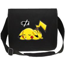 Sac bandoulière Canvas  parodique Pikachu : Batterie à plat ! (Parodie )