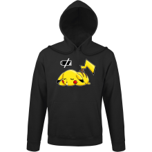 Sweats à capuche  parodique Pikachu : Batterie à plat ! (Parodie )
