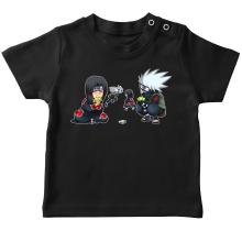 T-shirts  parodique Kakashi et Itachi : Clones no Jutsu :) (Parodie )