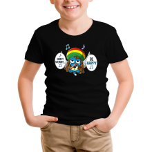 T-shirt Enfant  parodique Happy : Happy Bobby (Parodie )