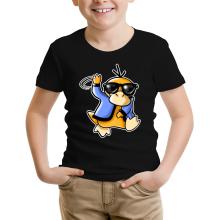 T-shirt Enfant  parodique Psykokwak réalisant le Gangnam Style : Gangduck Style by Psyko :) (Parodie )
