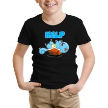 T-shirt Enfant  parodique Carapuce : Help !!! (Parodie )