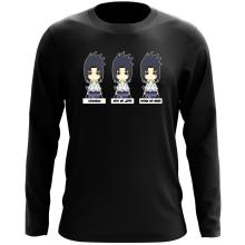 T-Shirt à manches longues  parodique Sasuke Uchiwa : L