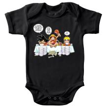 Body bébé  parodique Naruto, Sangoku et Luffy : La recette d