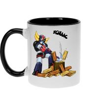 Mugs  parodique Goldorak - Astéro-hache : Le Bûcheron de l