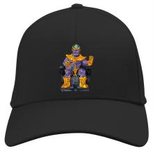 Casquette  parodique Thanos de Avengers et Beerus de Dragon Ball Super : Le Dieu de la destruction... et son chat ! (Parodie )