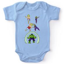 Bodys  parodique Piccolo, Broly et Hulk : Les origines de la Puissance... (Parodie )