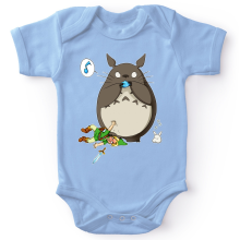 Body bébé  parodique Totoro et Link : Ni Vu ni connu... (Parodie )
