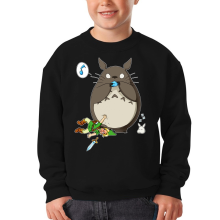 Pull Enfant  parodique Totoro et Link : Ni Vu ni connu... (Parodie )
