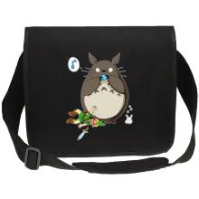 Sac bandoulière Canvas  parodique Totoro et Link : Ni Vu ni connu... (Parodie )