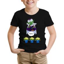 T-shirts (French Days)  parodique Piccolo aka Satan Petit Coeur et les Aliens : Papa !! (Parodie )