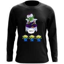 T-Shirts à manches longues (French Days)  parodique Piccolo aka Satan Petit Coeur et les Aliens : Papa !! (Parodie )