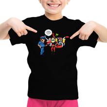 T-shirt Enfant Fille  parodique Actarus : Papiers du véhicule s