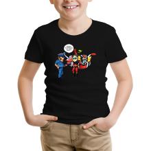 T-shirt Enfant  parodique Actarus : Papiers du véhicule s